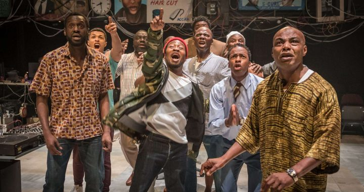 National Theatre at Home: Barber Shop Chronicles – Free to View 14th-21st May